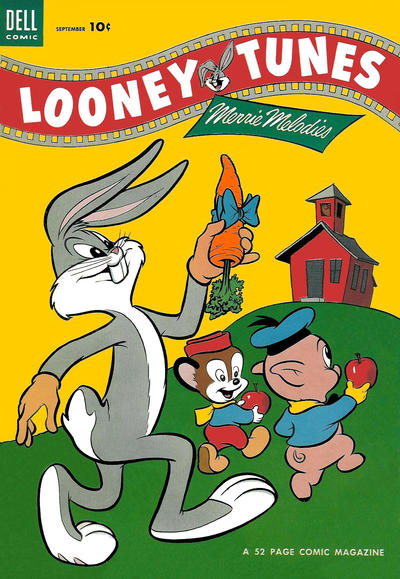 Cover for Looney Tunes and Merrie Melodies (Dell, 1950 series) #143