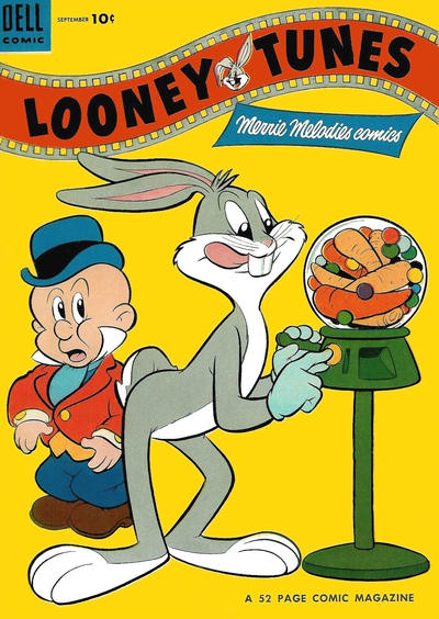 Cover for Looney Tunes and Merrie Melodies Comics (Dell, 1954 series) #155