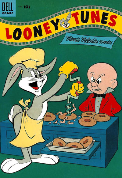 Cover for Looney Tunes and Merrie Melodies Comics (Dell, 1954 series) #164