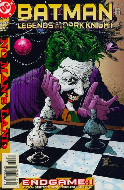 Cover for Batman: Legends of the Dark Knight (DC, 1992 series) #126