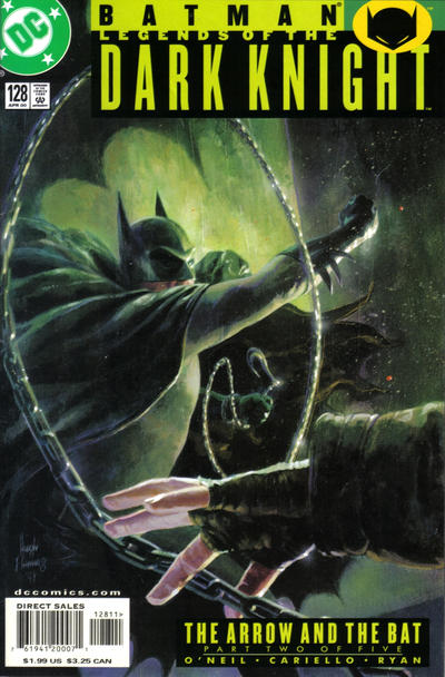 Cover for Batman: Legends of the Dark Knight (DC, 1992 series) #128