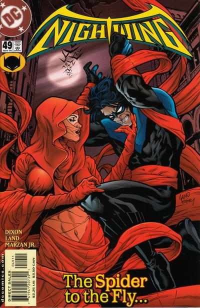 Cover for Nightwing (DC, 1996 series) #49