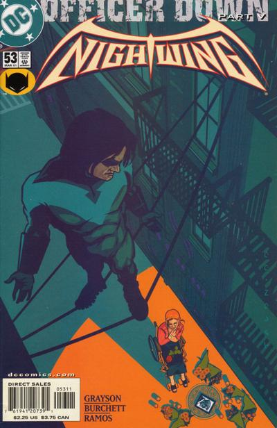 Cover for Nightwing (DC, 1996 series) #53