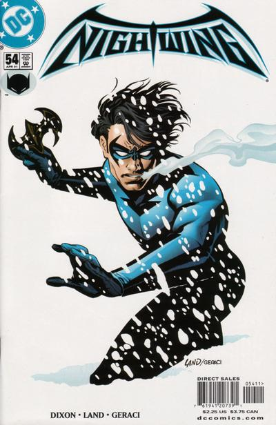 Cover for Nightwing (DC, 1996 series) #54