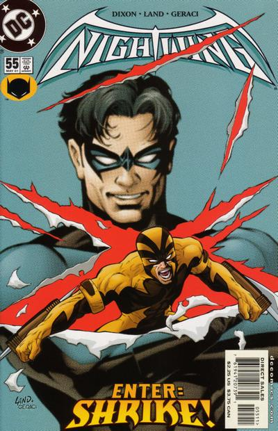 Cover for Nightwing (DC, 1996 series) #55