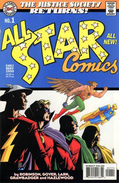 Cover for All Star Comics (DC, 1999 series) #1 [Retailer Representative Edition]