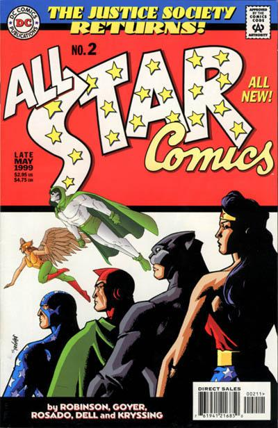 Cover for All Star Comics (DC, 1999 series) #2