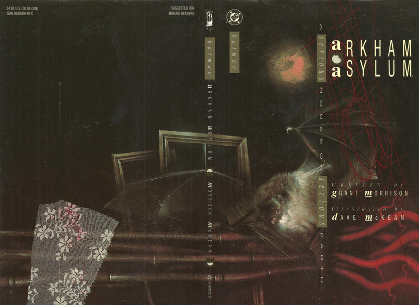 Cover for Arkham Asylum (DC, 1989 series)