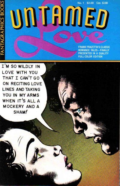 Cover for Frank Frazetta's Untamed Love (Fantagraphics, 1987 series) #1