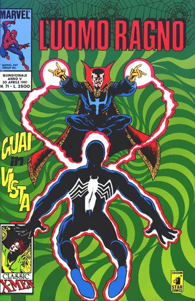 Cover for L'Uomo Ragno (Edizioni Star Comics, 1987 series) #71