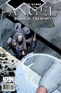 Cover Thumbnail for Angel: Blood & Trenches (IDW, 2009 series) #4