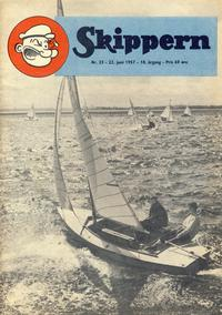 Cover Thumbnail for Skippern (Allers Forlag, 1947 series) #25/1957