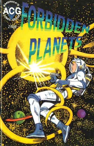 Cover for Forbidden Worlds (Avalon Communications, 1998 series) #1