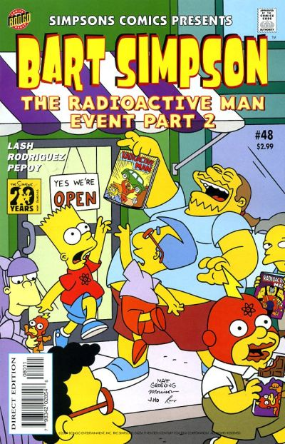 Cover for Simpsons Comics Presents Bart Simpson (Bongo, 2000 series) #48
