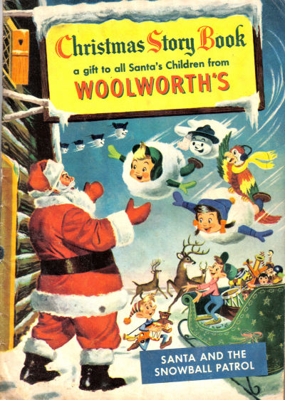 Cover for Christmas Story Book (Western, 1953 series)