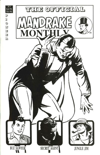 Cover for Mandrake Monthly (Pioneer, 1989 series) #1