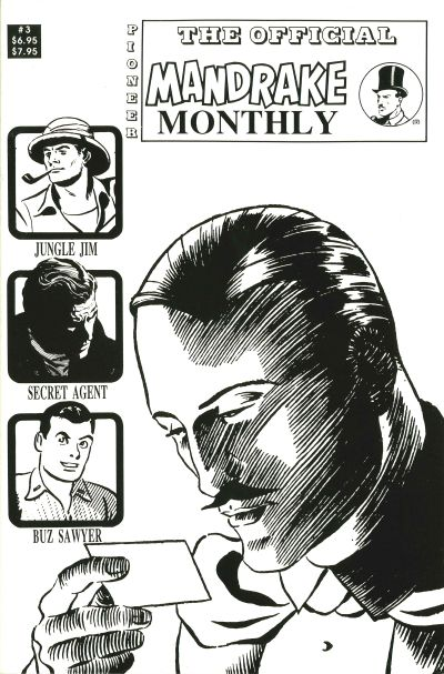 Cover for Mandrake Monthly (Pioneer, 1989 series) #3