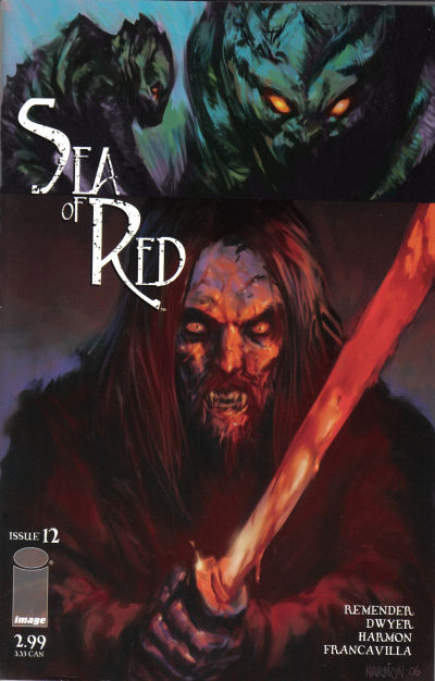 Cover for Sea of Red (Image, 2005 series) #12