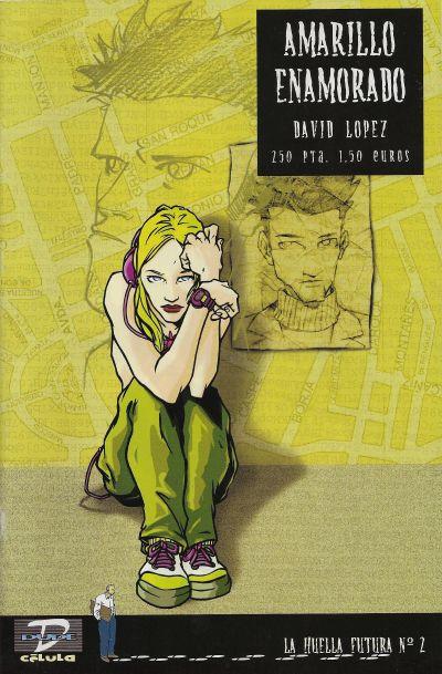 Cover for La Huella futura (Dude Comics, 2000 series) #2