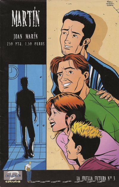 Cover for La Huella futura (Dude Comics, 2000 series) #3