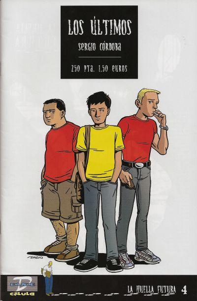 Cover for La Huella futura (Dude Comics, 2000 series) #4