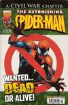 Cover for The Astonishing Spider-Man (Panini UK, 2007 series) #55