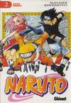 Cover for Naruto (Ediciones Glénat, 2002 series) #2