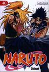 Cover for Naruto (Ediciones Glénat, 2002 series) #40