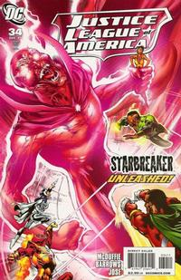 Cover Thumbnail for Justice League of America (DC, 2006 series) #34
