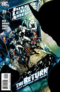 Cover Thumbnail for Justice League of America (DC, 2006 series) #35
