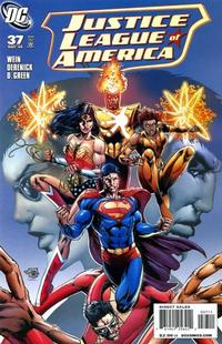 Cover Thumbnail for Justice League of America (DC, 2006 series) #37 [Direct Sales]