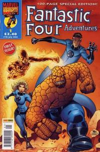 Cover for Fantastic Four Adventures (Panini UK, 2005 series) #1
