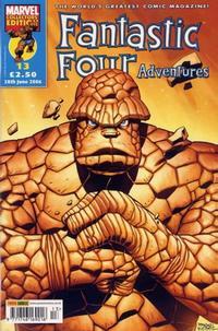 Cover Thumbnail for Fantastic Four Adventures (Panini UK, 2005 series) #13