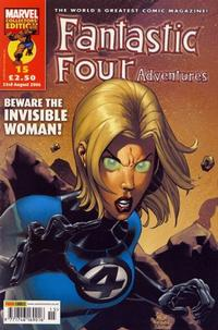Cover Thumbnail for Fantastic Four Adventures (Panini UK, 2005 series) #15