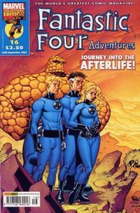 Cover for Fantastic Four Adventures (Panini UK, 2005 series) #16