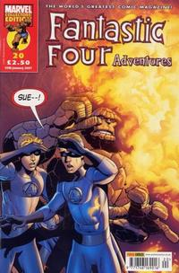 Cover for Fantastic Four Adventures (Panini UK, 2005 series) #20
