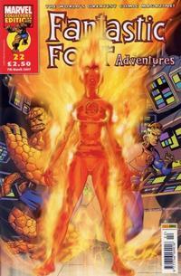 Cover Thumbnail for Fantastic Four Adventures (Panini UK, 2005 series) #22