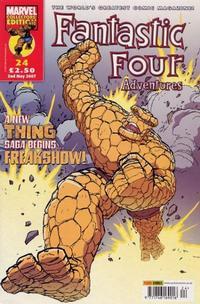 Cover Thumbnail for Fantastic Four Adventures (Panini UK, 2005 series) #24