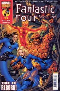 Cover Thumbnail for Fantastic Four Adventures (Panini UK, 2005 series) #25