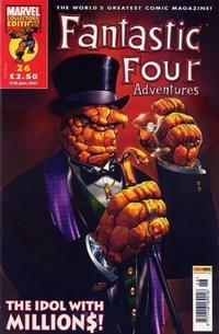 Cover Thumbnail for Fantastic Four Adventures (Panini UK, 2005 series) #26