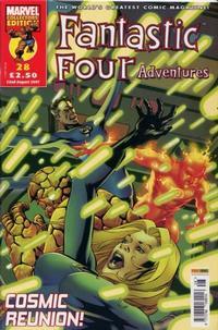 Cover Thumbnail for Fantastic Four Adventures (Panini UK, 2005 series) #28
