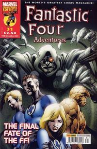 Cover for Fantastic Four Adventures (Panini UK, 2005 series) #31