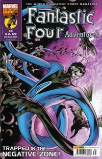 Cover for Fantastic Four Adventures (Panini UK, 2005 series) #35