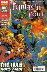 Cover Thumbnail for Fantastic Four Adventures (Panini UK, 2005 series) #37