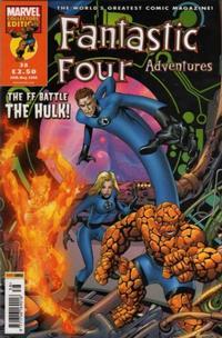 Cover Thumbnail for Fantastic Four Adventures (Panini UK, 2005 series) #38
