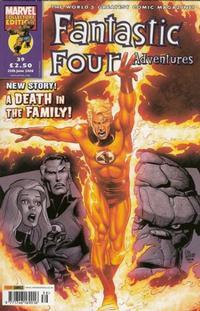 Cover Thumbnail for Fantastic Four Adventures (Panini UK, 2005 series) #39