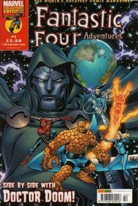 Cover Thumbnail for Fantastic Four Adventures (Panini UK, 2005 series) #42