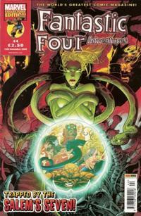 Cover Thumbnail for Fantastic Four Adventures (Panini UK, 2005 series) #44