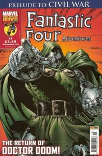Cover Thumbnail for Fantastic Four Adventures (Panini UK, 2005 series) #45