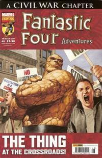 Cover for Fantastic Four Adventures (Panini UK, 2005 series) #48